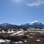 Spanish Peaks in Winter